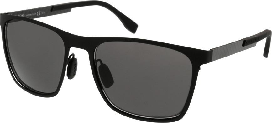 Image of Hugo Boss 0732/S KCQ Y1 (black matt-carbon/schwarz)