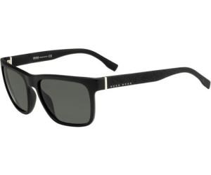 BOSS Hugo Boss Hugo Boss Herren Sonnenbrille Boss 0918/S NR Z2I, Schwarz (Havana Black/Brw Grey), 56