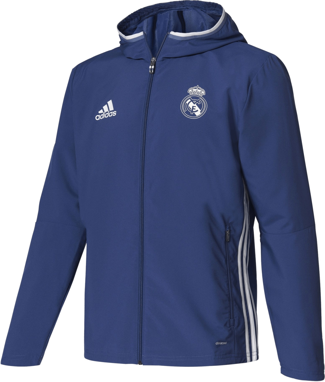 Adidas Real Madrid Pre-Match Jacke raw purple/c...