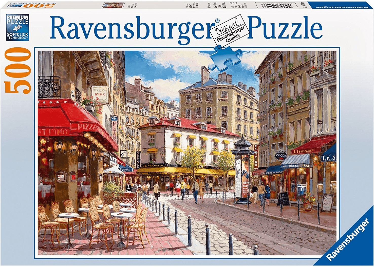 Ravensburger Quaint Shops (500 Teile)
