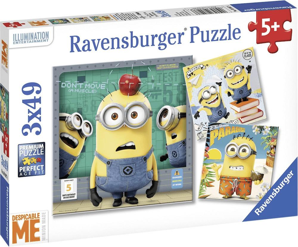 Ravensburger Minions Despicable Me 3 x 49 Teile