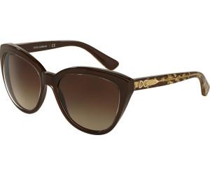 Dolce & Gabbana DG4250 2918/13 (brown-brown gold/brown gradient)