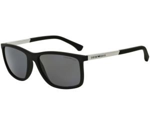 Emporio Armani Herren Sonnenbrille » EA4058«, schwarz, 56498G - schwarz/grau