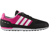 brand new 23e16 62058 Adidas NEO City Racer W core blackwhiteshock pink
