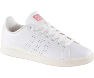 adidas Neo Cloudfoam Advantage Clean Damen Sneaker 39 1/3 White/Ray Pink 9BQmBab