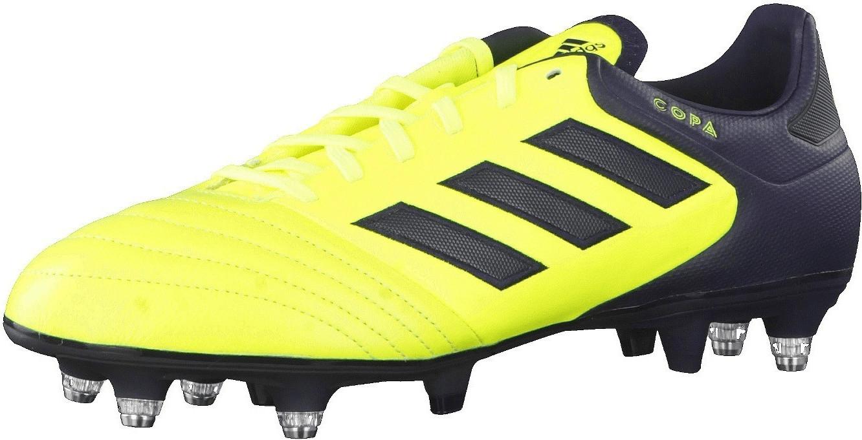adidas Copa 17.2 SG, Zapatillas de Fútbol para Hombre, (Solar Yellow Legend Ink), 40 2/3 EU