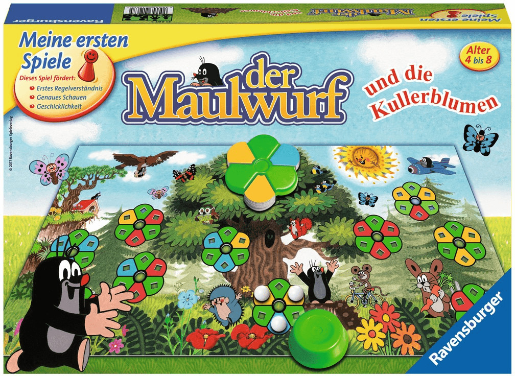 Ravensburger Der Maulwurf und die Kullerblumen