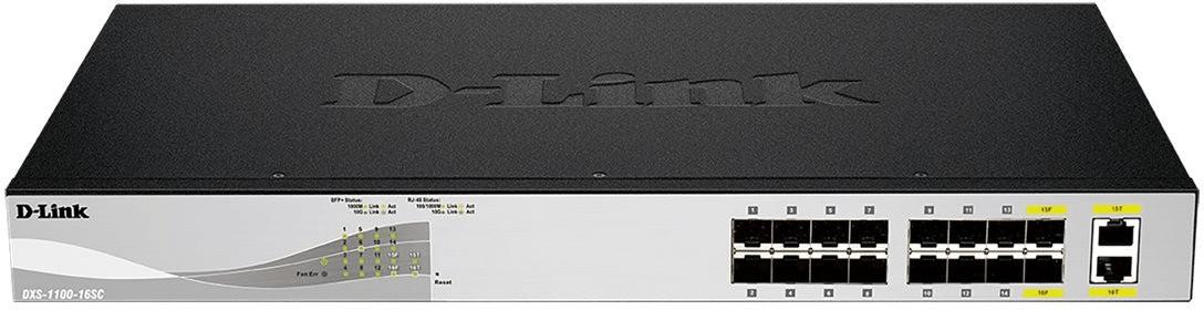 Image of D-Link 14-Port 10G Switch (DXS-1100-16SC)