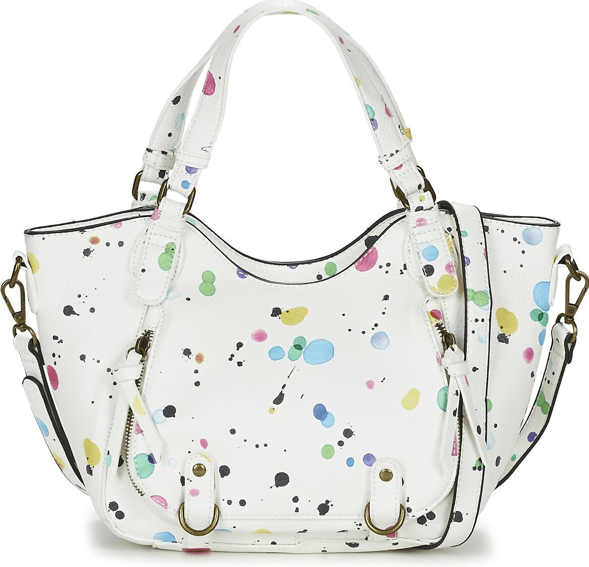 Desigual Mini Rotterdam New Splatt blanco (71X9EX9)