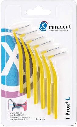 Miradent I-Prox L 0,5mm gelb (6 Stk.)