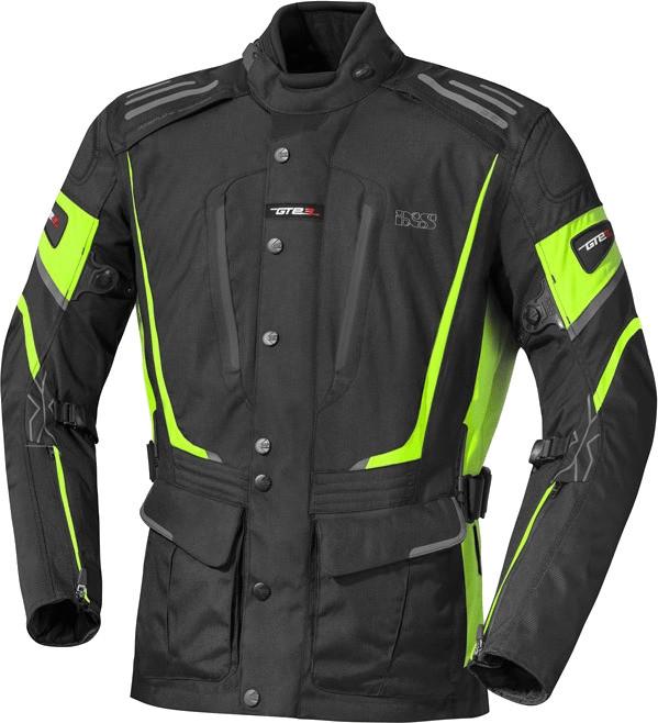 IXS Powell Jacket black/yellow