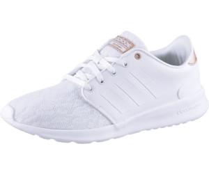 adidas damen cloudfoam qt racer sneakers bianco