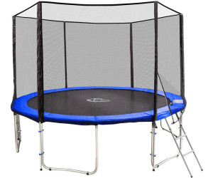 tectake trampoline de jardin 427 cm avec filet de s curit. Black Bedroom Furniture Sets. Home Design Ideas