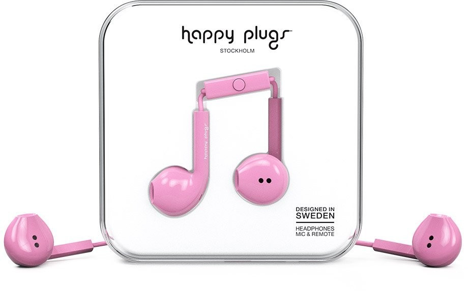 Image of Happy Plugs Earbud Plus Pink