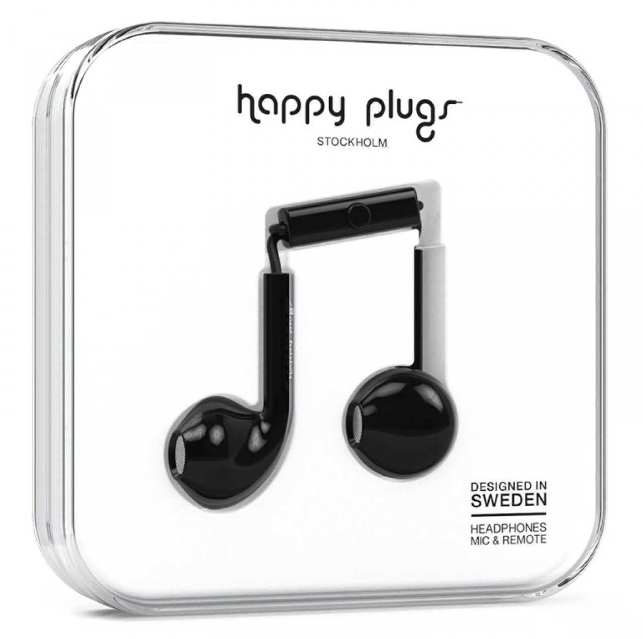 Image of Happy Plugs Earbud Plus Black