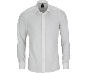 OLYMP Level Five Slim Fit Smokinghemd mit Stretch Anteil Ecru