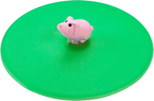 Lurch Getränkedeckel Hoftiere Schwein