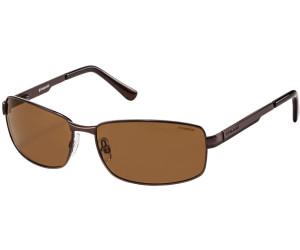 Polaroid Herren P4416 PK 09Q Sonnenbrille, Braun (Brown/Dark Brown Pz), 63