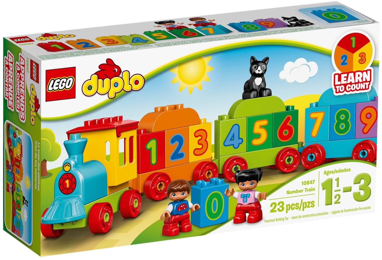 LEGO Duplo - Zahlenzug (10847)