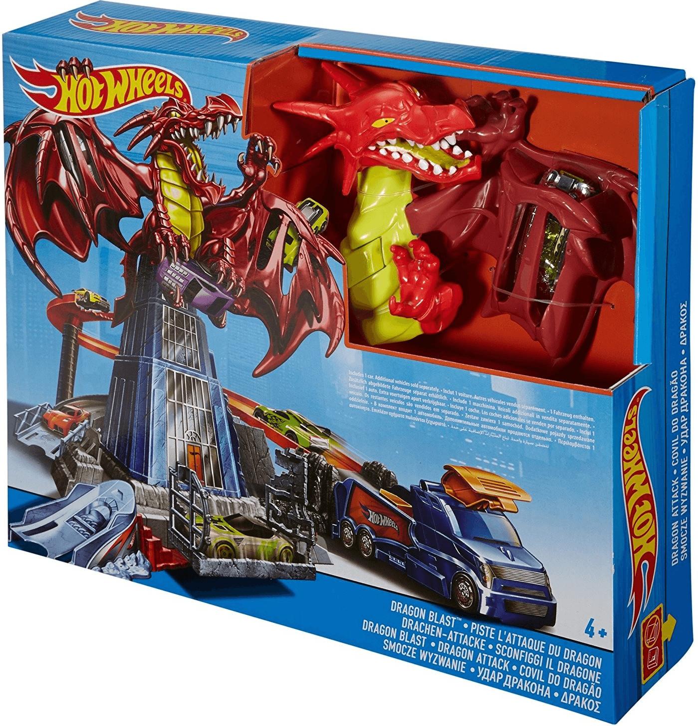 Mattel Drachen-Attacke Spielset