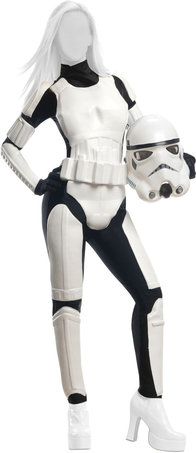 Image of Rubie's Star Wars - Sexy Stormtrooper Costume donna