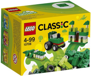 lego classic kreativ box gr n 10708 ab 3 45. Black Bedroom Furniture Sets. Home Design Ideas