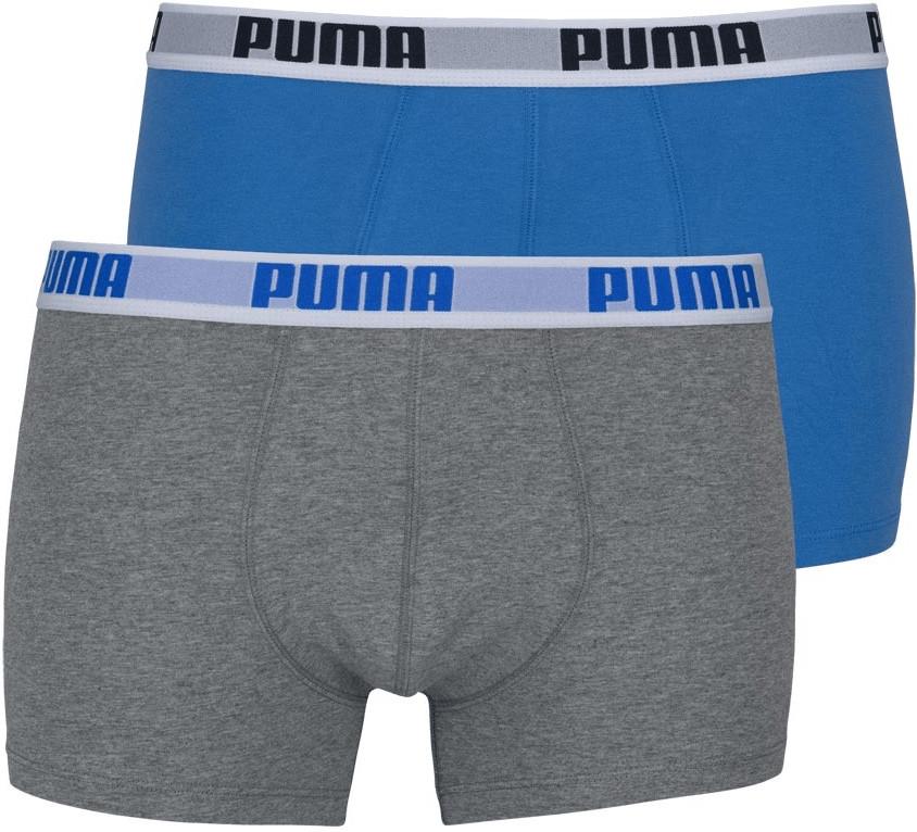 Puma Boxer Shorts 2er Pack blue/grey