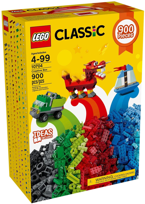LEGO Classic - Caja creativa (10704)