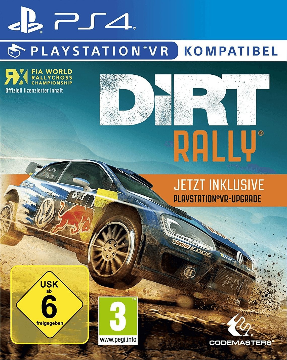 DiRT Rally + PlayStation VR-Upgrade (PS4)