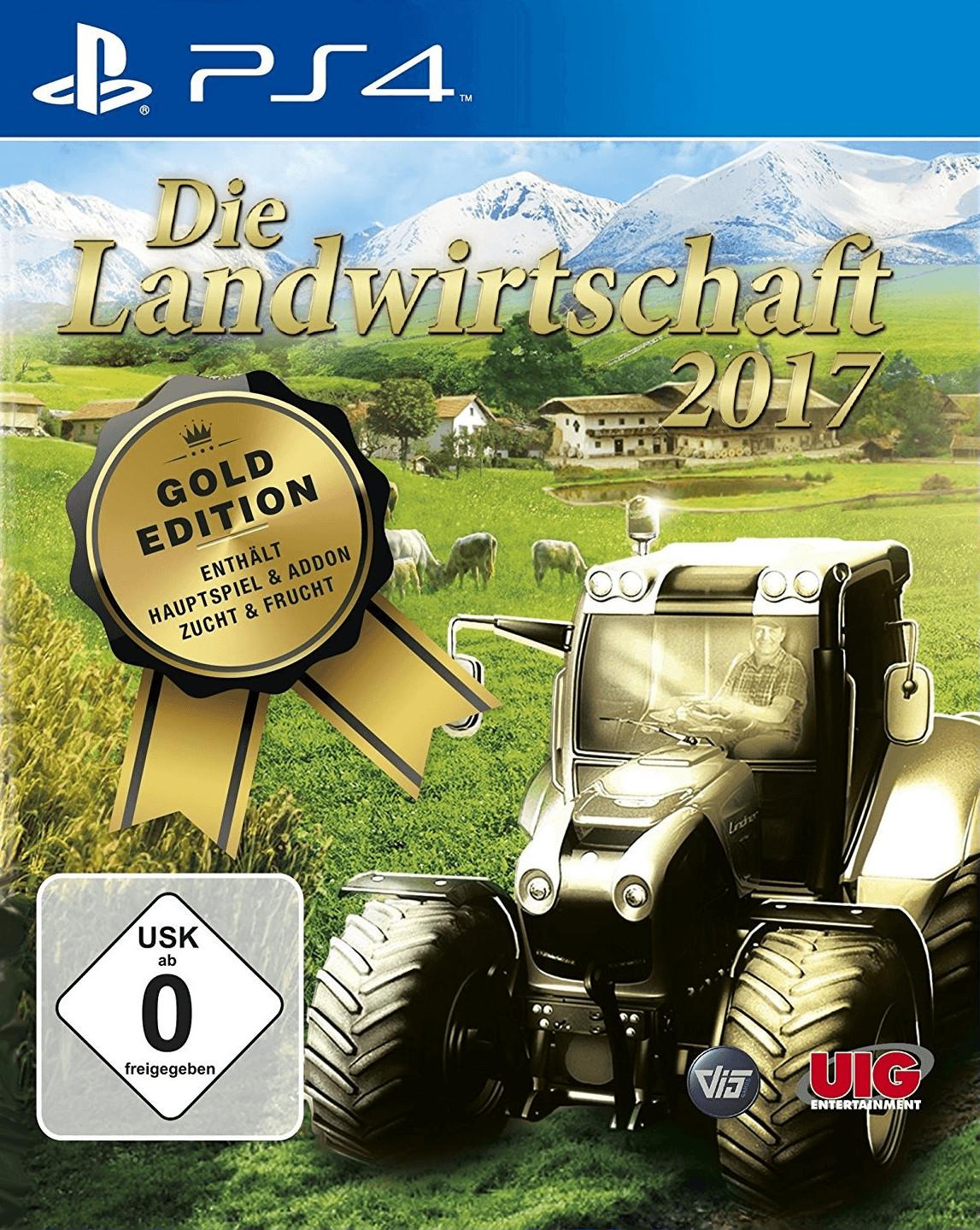 Die Landwirtschaft 2017: Gold Edition (PS4)