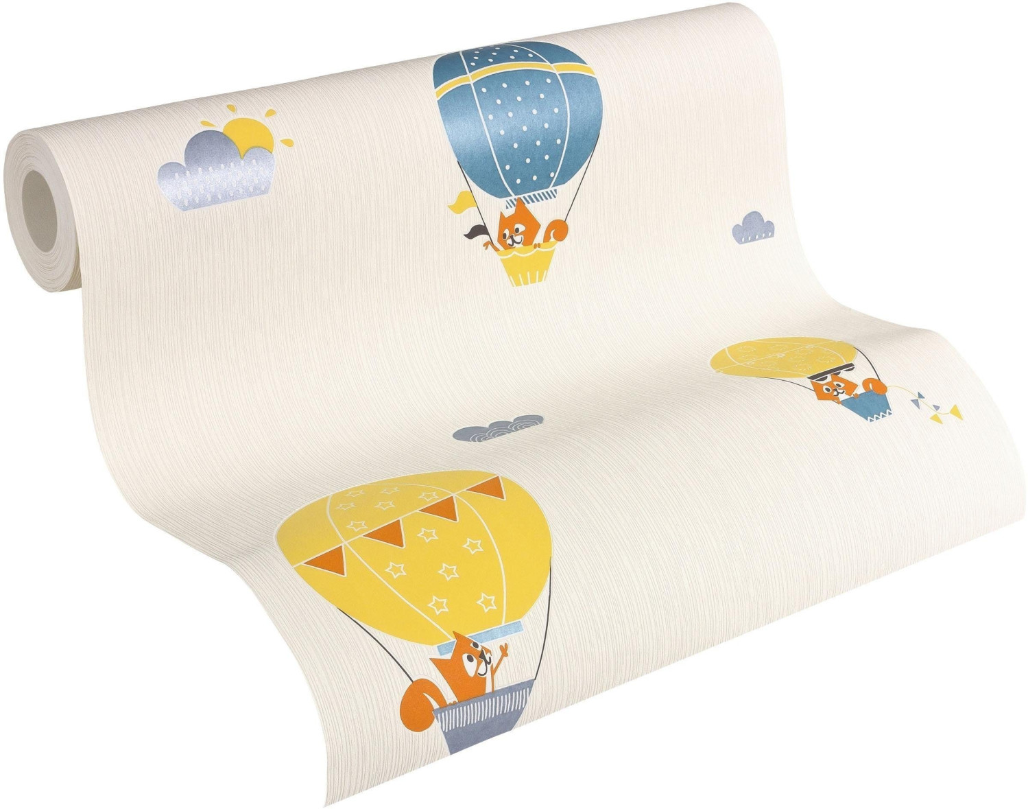 A.S. Creation Esprit Home Kids Flying Balloon orange (2952)