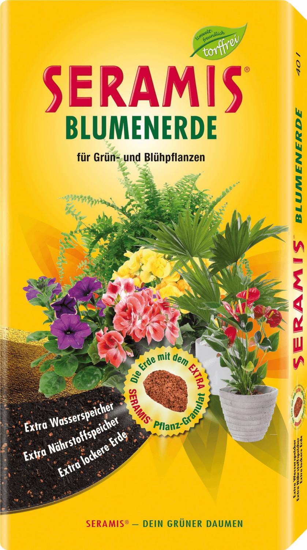 Seramis Blumenerde ohne Torf 17,5 Liter