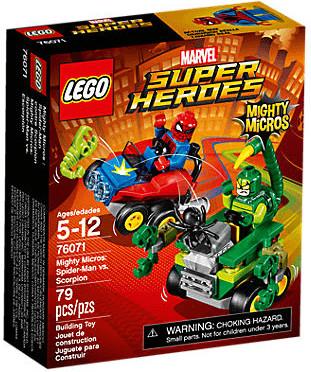 LEGO Marvel Super Heroes - Mighty Micros: Spider-Man vs. Scorpion (76071)