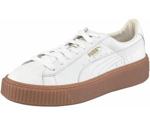 puma sneaker weiß rose braune sohle