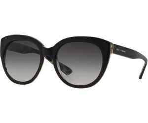 DOLCE & GABBANA Dolce & Gabbana Damen Sonnenbrille » DG4259«, schwarz, 28578G - schwarz/grau