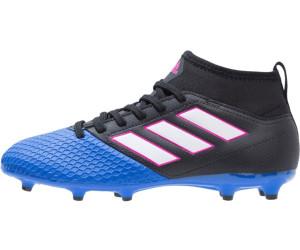 adidas ACE 17.3 Primemesh FG Junior Blue Blast schwarzblau, Größe:36 = UK 3 12