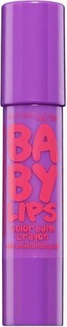 Image of Maybelline Baby Lips Color Balm Crayon - 25 Playful Purple (3ml)