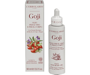 L'Erbolario Goji Face and Body Oil (90ml)