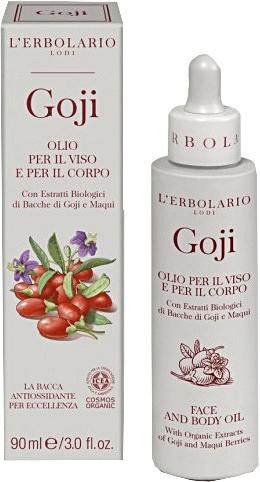 L'Erbolario Goji Face and Body Oil (90ml)