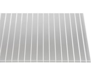 Polycarbonat Stegplatten Hohlkammerplatten wei/ß-opal 16 mm 1200 mm Breite 4000 x 1200 x 16 mm