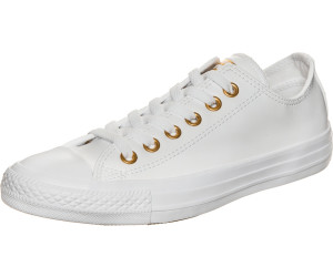 Converse CHUCK TAYLOR ALL STAR CRAFT CUIR OX Blanc t9b1fIK