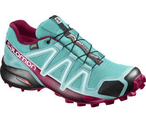 Salomon Damen Speedcross 4 GTX W Traillaufschuhe, Blau (Aquarius/Beach Glass/Hawaiian Surf 000), 45 1/3 EU