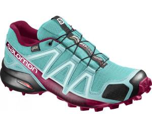Salomon Damen Speedcross 4 Traillaufschuhe, Pink (Virtual Pink/Black/Sulphur Spring 000), 41 1/3 EU