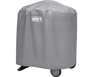 Weber Elektrogrill Q 1400 Obi : Weber standard abdeckhaube q  mit rollwagen ab