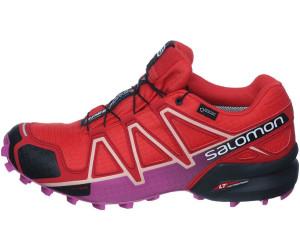 Chaussures Salomon Speedcross 4 Gtx W Poppy Red Barbados