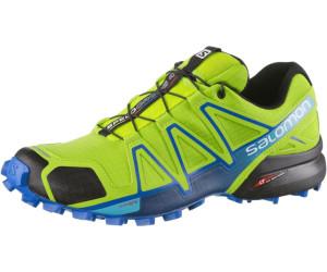 04068e35b4a0 ... order online 38e6a 8c641 Salomon Speedcross 4 Running Shoes lime  greennautical bluehawaiian ocean ...