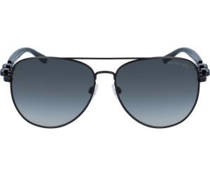 Michael Kors Damen Sonnenbrille Pandora 113111, Matte Black/Gradient, 58