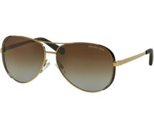 Mk5004 Chelsea 1014t5 Gold/dk Chocolate Brown Brown Gradient Polarized 59/13 135 dMAQI