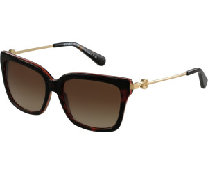 MICHAEL KORS Michael Kors Damen Sonnenbrille »ABELA I MK6038«, braun, 31325M - braun/ rosa