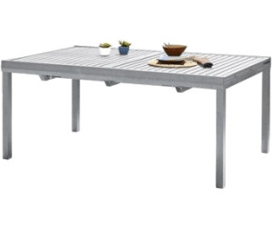dcb garden table avec rallonge orlando au meilleur prix